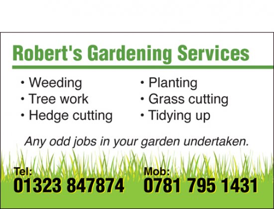 gardening business services container ideas business card design